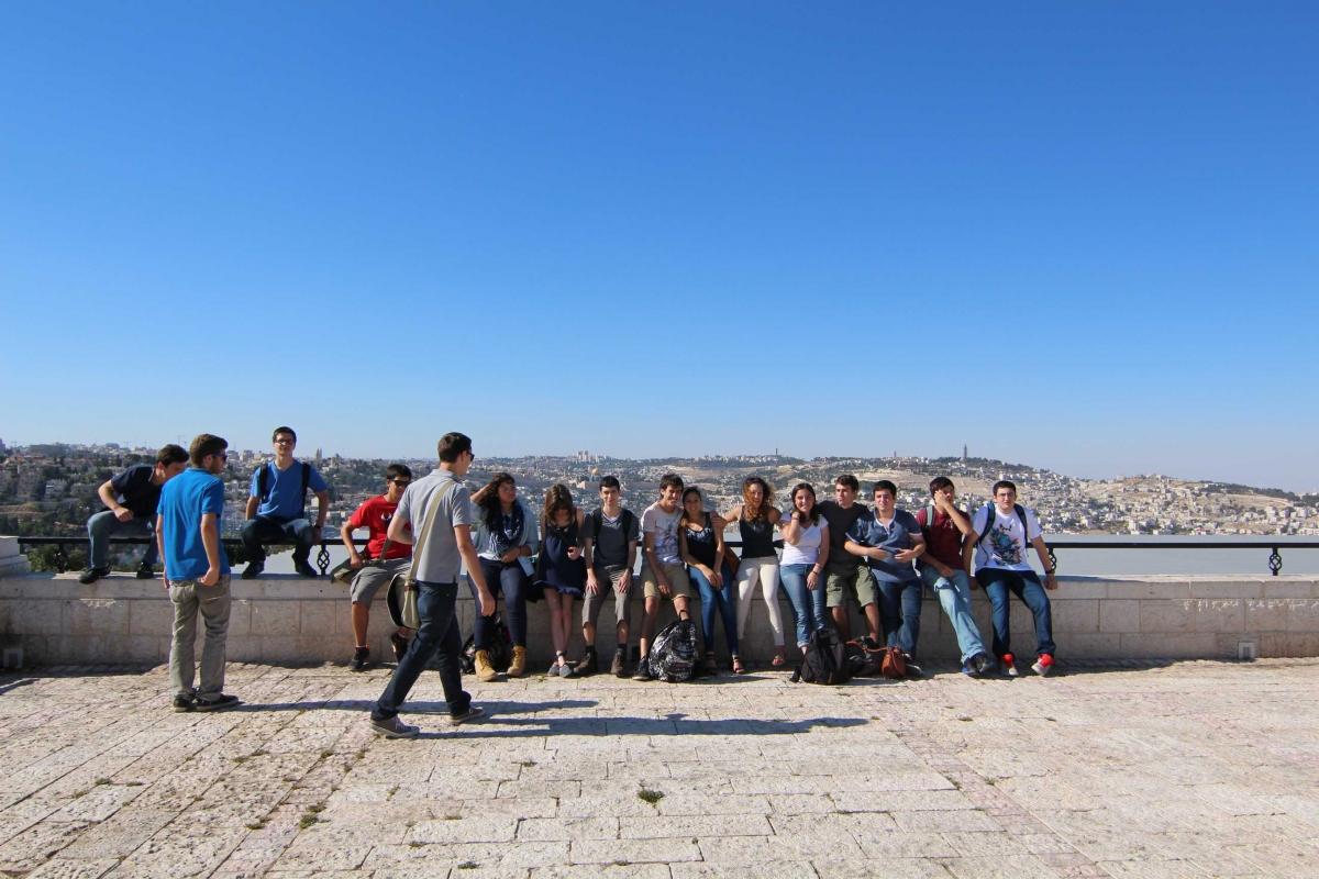 סיור לירושלים 26.6.2014